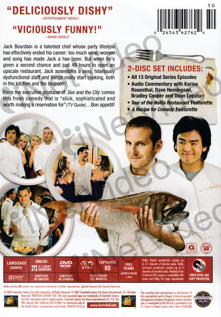 kitchen confidential tv show - kitchen confidential tv series 2005