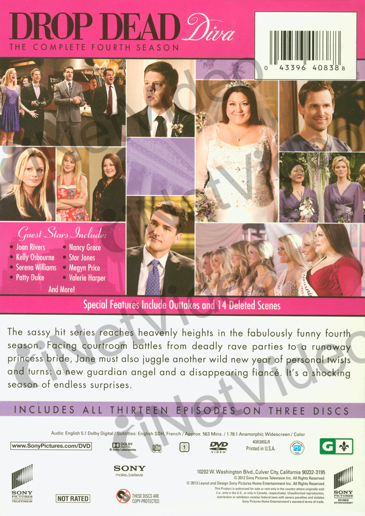 Drop dead diva season 4 boxset region 1 dvd ebay - Drop dead diva seasons ...
