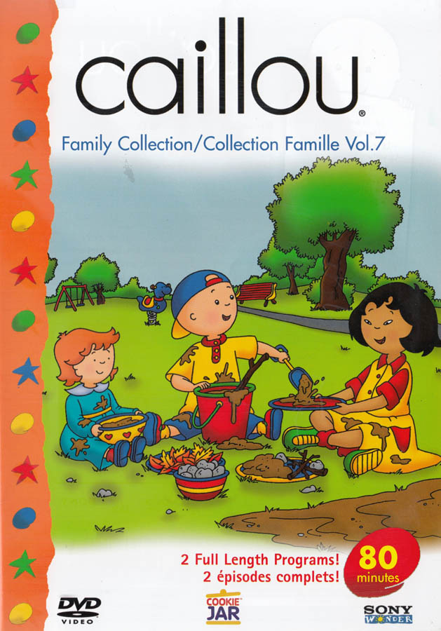 CAILLOU - FAMILY COLLECTION (VOL. 7) *NEW DVD**********   eBay Caillou Family Collection Dvd Ebay