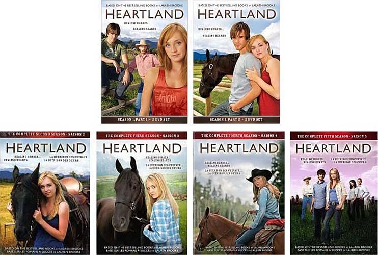 HEARTLAND COMPLETE SEASONS 1-5 (BOXSET) (5 PACK) (REGION 1 ...