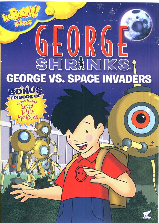 GEORGE SHRINKS - GEORGE VS SPACE INVADERS (KABOOM!) (DVD)