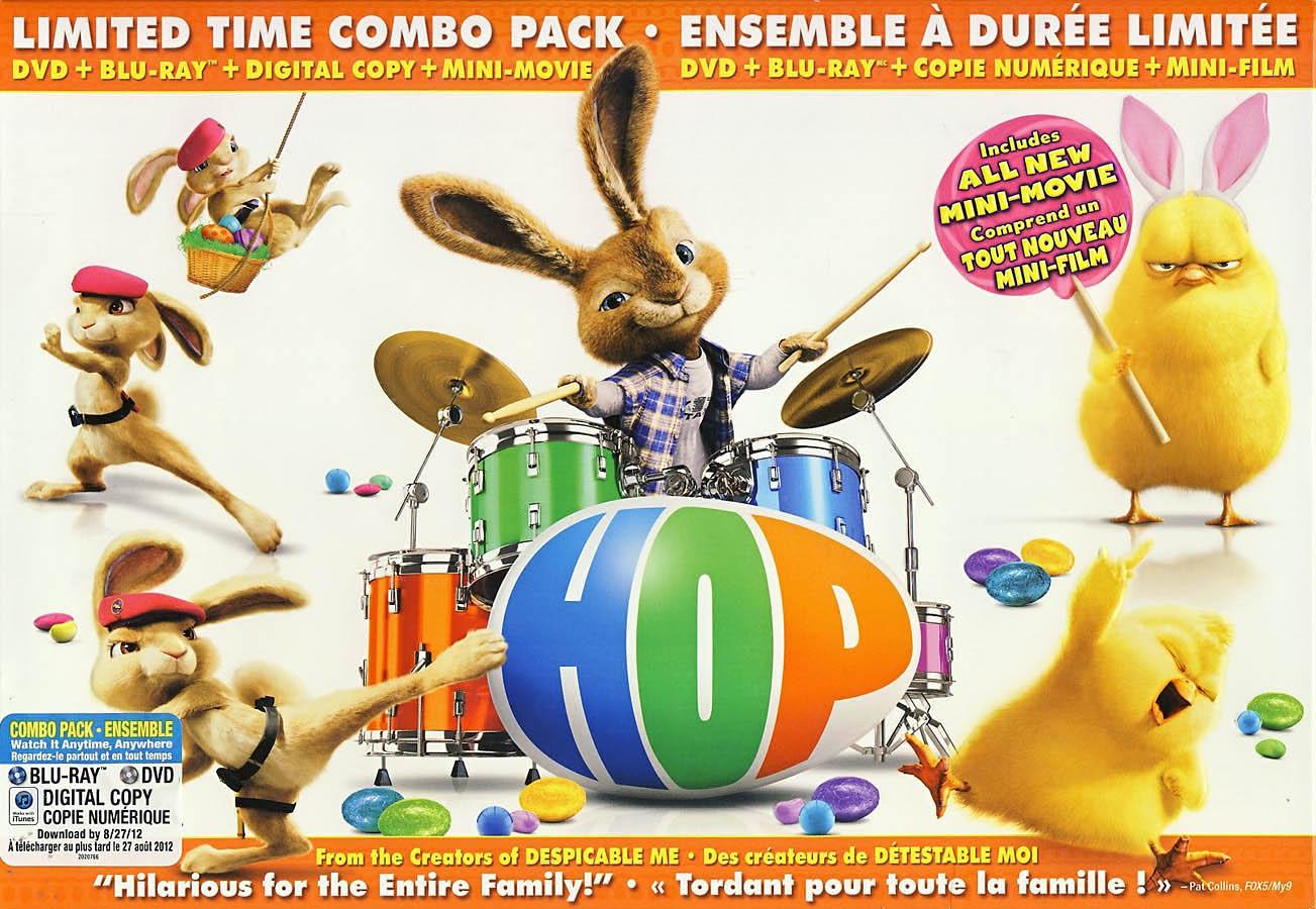 Hop (DVD + Blu-ray + Digital Copy) (Limited Ed New Blu