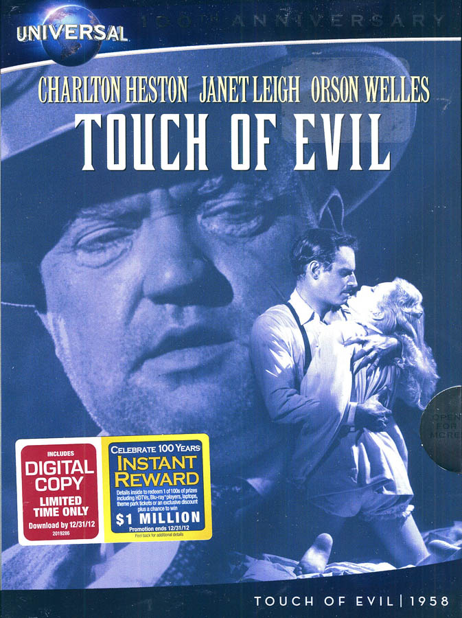Touch-of-Evil-Digital-Copy-Universal-039-s-10-New-DVD