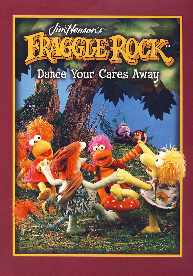 Fraggle Rock - Dance Your Cares Away (Canadian New DVD