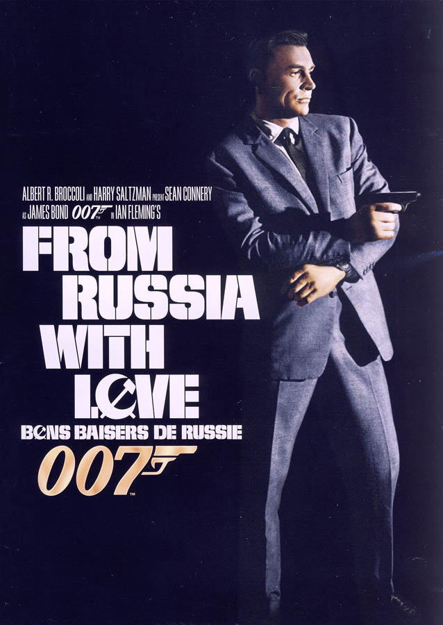 from russia with love black cover bilingual region 1