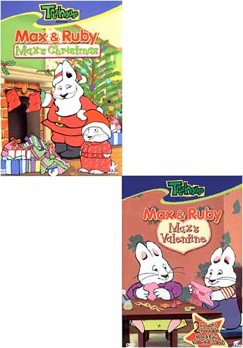 Max And Ruby Max S Christmas Max S Valentine New Dvd Ebay