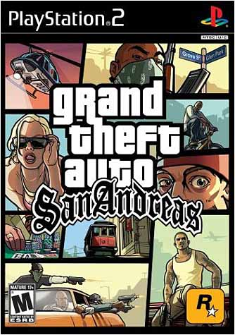 Grand Theft Auto - San Andreas PS2 NEW