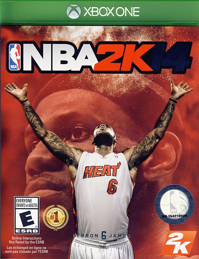 NBA 2K14 (BILINGUAL COVER) (XBOX ONE)[PAL COMPATIBLE] | eBay